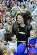 Алина Кабаева на турнире Алина