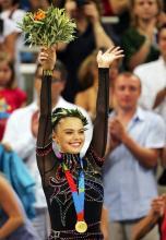 Алина Кабаева чемпионка