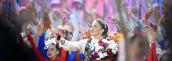 Алина Кабаева закрывает Фестиваль художественной гимнастики